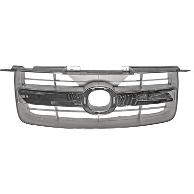GRILLE - CHROME PAINTED/SILVER - TO SUIT MAZDA BT50 P/UP 2007-