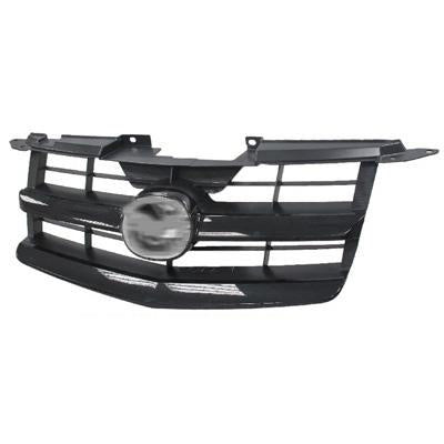 GRILLE - PAINTED BLACK - TO SUIT MAZDA BT50 P/UP 2009-  F/LIFT