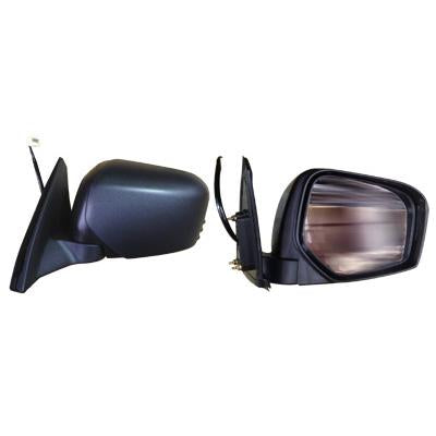 DOOR MIRROR - L/H - ELECTRIC - BLACK - TO SUIT MITSUBISHI TRITON L200 2005-