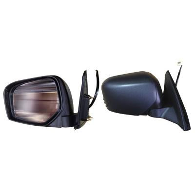 DOOR MIRROR - R/H - ELECTRIC - BLACK - TO SUIT MITSUBISHI TRITON L200 2005-