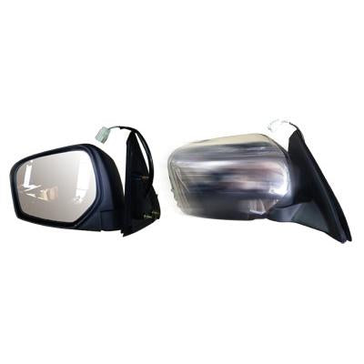 DOOR MIRROR - R/H - ELECTRIC - CHROME - TO SUIT MITSUBISHI TRITON L200 2005-