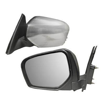 DOOR MIRROR - R/H - MANUAL - CHROME - TO SUIT MITSUBISHI TRITON L200 2005-