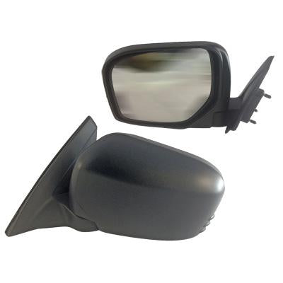DOOR MIRROR - R/H - MANUAL - BLACK - TO SUIT MITSUBISHI TRITON L200 2005-
