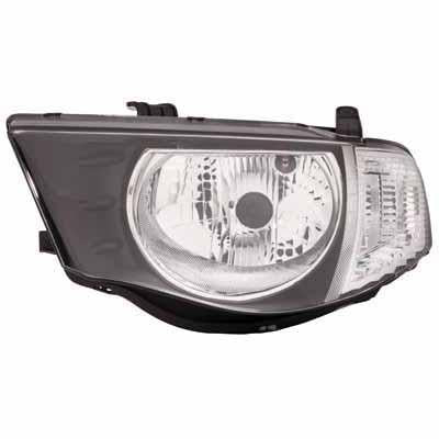 HEADLAMP - L/H - FOR DOUBLE CAB - TO SUIT MITSUBISHI TRITON L200 2010-  F/LIFT