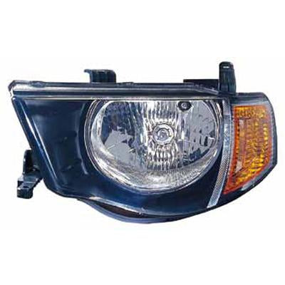 HEADLAMP - L/H - FOR DOUBLE CAB - TO SUIT MITSUBISHI TRITON L200 2005-