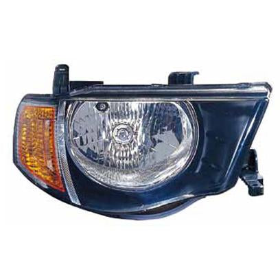HEADLAMP - R/H - FOR DOUBLE CAB - TO SUIT MITSUBISHI TRITON L200 2005-