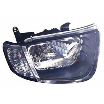 HEADLAMP - R/H - FOR SINGLE CAB - TO SUIT MITSUBISHI TRITON L200 2005-