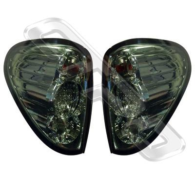 3707598-91PG-REAR LAMP - SET - L&R - SMOKEY - LED - MITSUBISHI TRITON L200 2005-