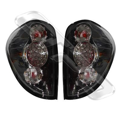 3707598-92PG-REAR LAMP - SET - L&R - BLACK - LED - MITSUBISHI TRITON L200 2005-