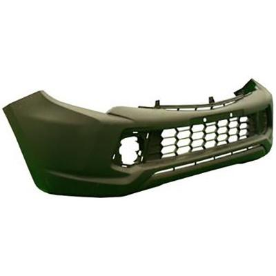 FRONT BUMPER - W/O FLARE HOLES - SINGLE CAB - TO SUIT MITSUBISHI TRITON L200 2015-