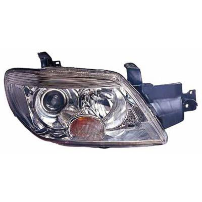 HEADLAMP - R/H - MANUAL - CHROME - TO SUIT MITSUBISHI AIRTREK 2005-