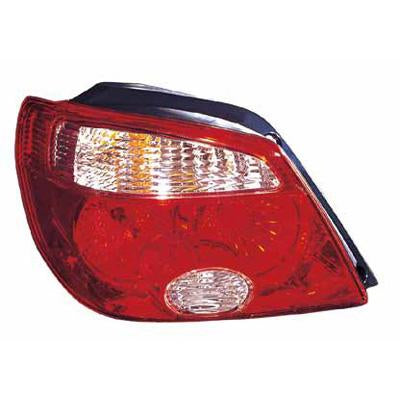 REAR LAMP - L/H - RED - TO SUIT MITSUBISHI AIRTREK 2005-