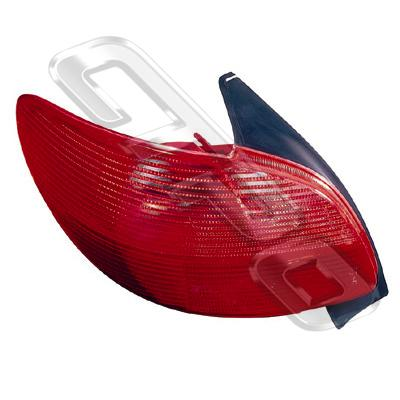 REAR LAMP - L/H - TO SUIT PEUGEOT 206 1998-