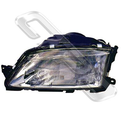 HEADLAMP - L/H - SINGLE BULB - TO SUIT PEUGEOT 306 1993-96  (MANUAL)