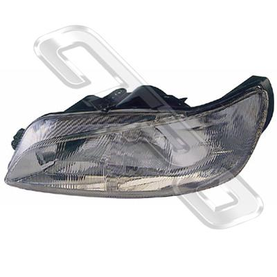 HEADLAMP - L/H - ELECTRIC - TWIN BULB - TO SUIT PEUGEOT 306 1997-