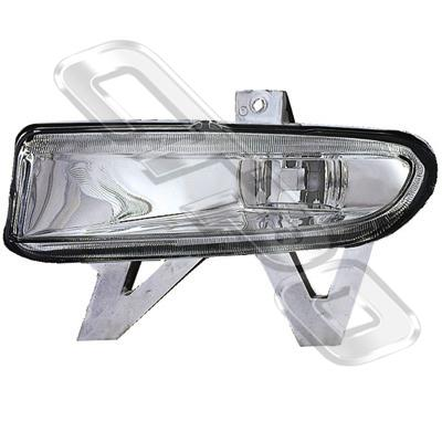 FOG LAMP - L/H - CLEAR - TO SUIT PEUGEOT 406 1999-  F/L