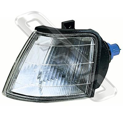 CORNER LAMP - L/H - CLEAR - TO SUIT ROVER 200/220/400 1989-1992