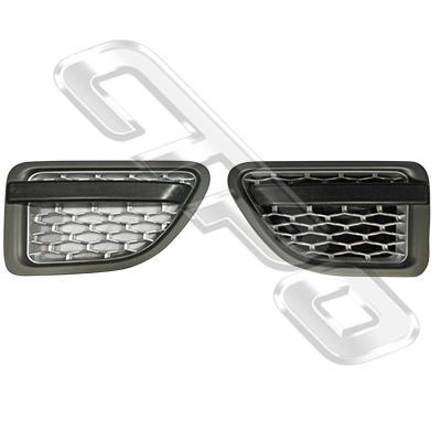 FRONT GUARD GARNISH SET - L&R - TO SUIT RANGE ROVER SPORT 2005-