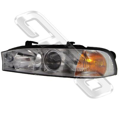 HEADLAMP - L/H - BUG EYE - TO SUIT SUBARU LEGACY BD/BG 1995-98