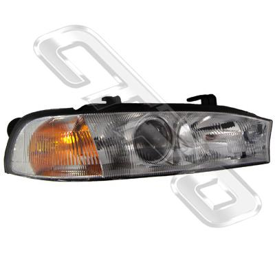 HEADLAMP - R/H - BUG EYE - TO SUIT SUBARU LEGACY BD/BG 1995-98