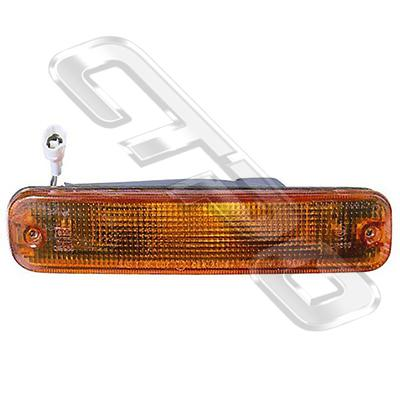 BUMPER LAMP - L/H - AMBER - TO SUIT SUBARU IMPREZA 1992-   (STD TYPE)