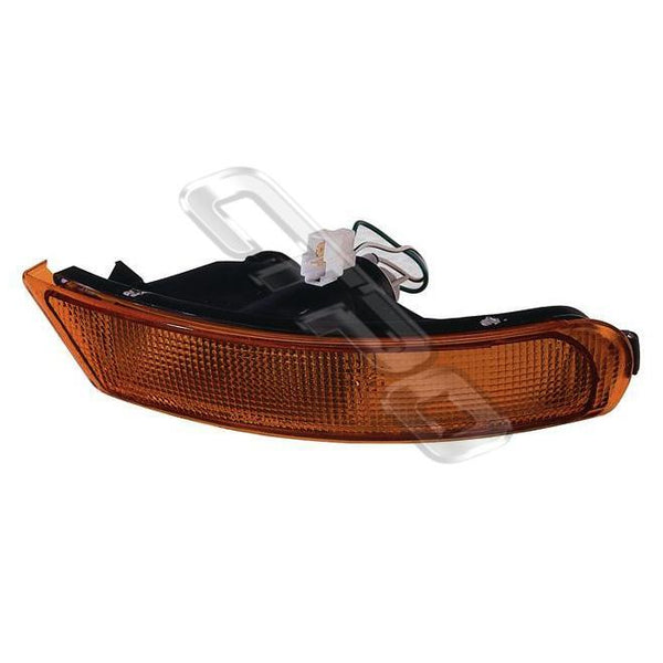 BUMPER LAMP - L/H - AMBER - TO SUIT SUBARU IMPREZA 1992-   (SPORTS TYPE)
