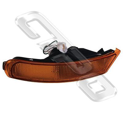 BUMPER LAMP - R/H - AMBER - TO SUIT SUBARU IMPREZA 1992-   (SPORTS TYPE)