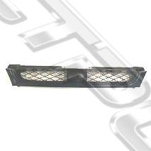 GRILLE - MAT BLACK - TO SUIT SUBARU IMPREZA 1997-