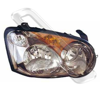 HEADLAMP - R/H - MANUAL - TO SUIT SUBARU IMPREZA 2002-  NZ MODEL
