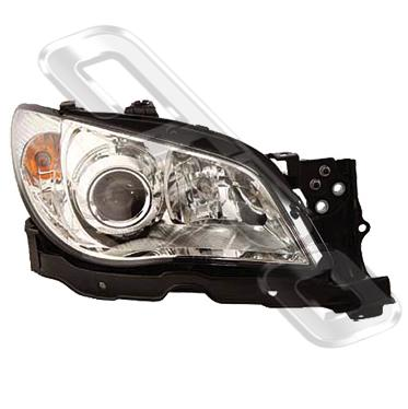 HEADLAMP - R/H - ELECTRIC - CHROME - TO SUIT SUBARU IMPREZA 2005-