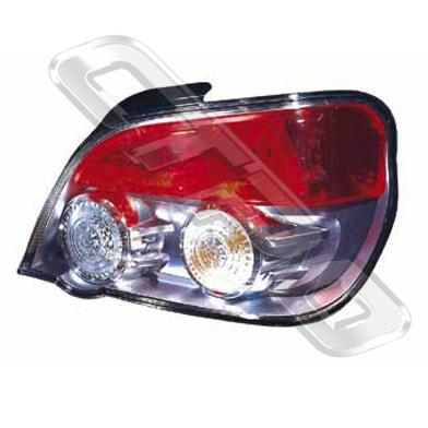 REAR LAMP - R/H - RED/CLEAR CIRCLES - TO SUIT SUBARU IMPREZA 2005-