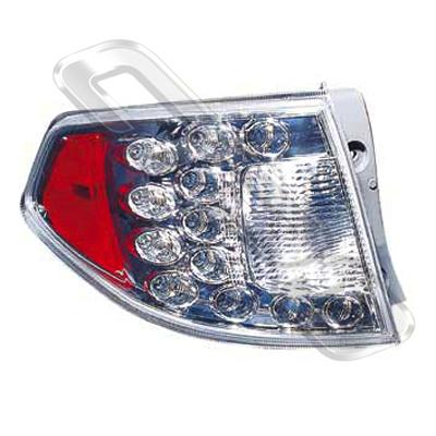 REAR LAMP - L/H - LED TYPE - TO SUIT SUBARU IMPREZA 2008-  H/BACK