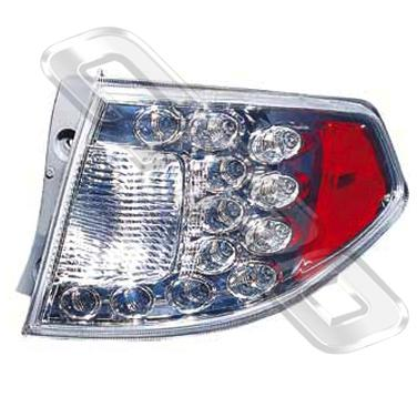 REAR LAMP - R/H - LED TYPE - TO SUIT SUBARU IMPREZA 2008-  H/BACK