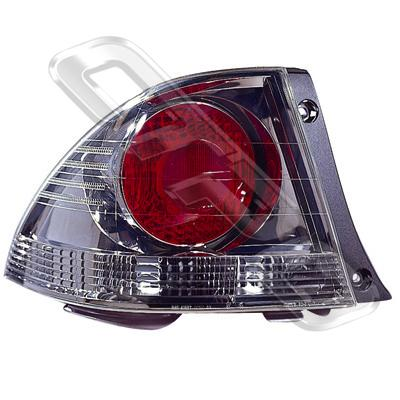 REAR LAMP - L/H - DARK CHROME - TO SUIT TOYOTA ALTEZZA  IS200 1998-