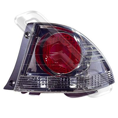 REAR LAMP - R/H - DARK CHROME - TO SUIT TOYOTA ALTEZZA  IS200 1998-