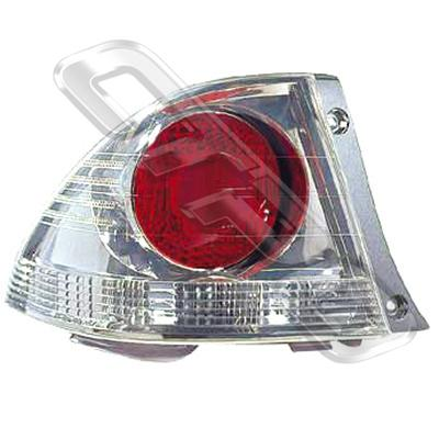 REAR LAMP - L/H - CHROME - TO SUIT TOYOTA ALTEZZA  IS200 1998-