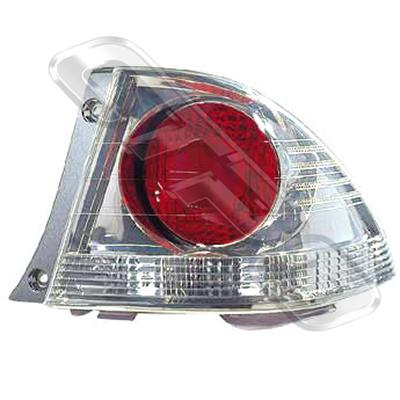 REAR LAMP - R/H - CHROME - TO SUIT TOYOTA ALTEZZA  IS200 1998-