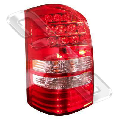 REAR LAMP - L/H - RED & PINK - TO SUIT TOYOTA WISH - ANE11W - 2003- EARLY