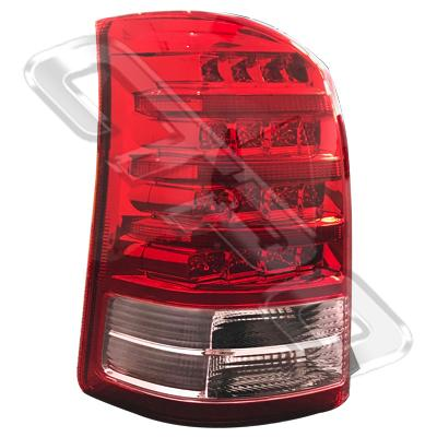 REAR LAMP - L/H - RED & PINK - TO SUIT TOYOTA WISH - ANE11W - 2005- F/LIFT