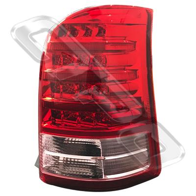 REAR LAMP - R/H - RED & PINK - TO SUIT TOYOTA WISH - ANE11W - 2005- F/LIFT