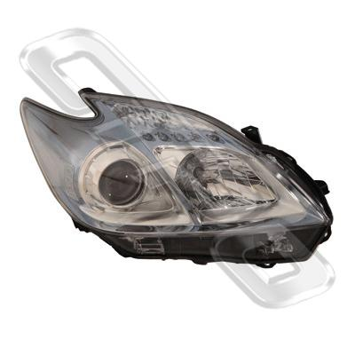 HEADLAMP - R/H - ELECTRIC - TO SUIT TOYOTA PRIUS 2009-