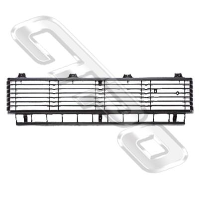 GRILLE - CENTRE/BLACK - TO SUIT TOYOTA HILUX 2WD 1979-81
