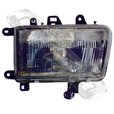 HEADLAMP - L/H - GLASS LENS - TO SUIT TOYOTA  4WD/4 RUNNER SURF 1991-