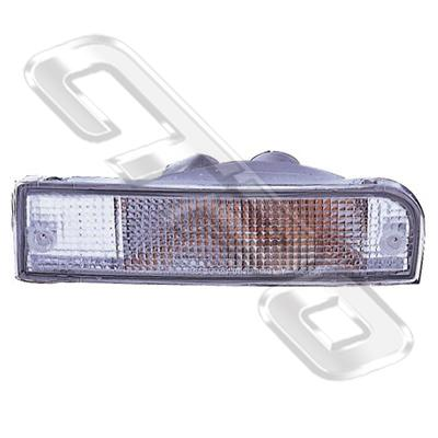 BUMPER LAMP - SET - L&R - CLEAR - TO SUIT TOYOTA  4 RUNNER SURF 1992-
