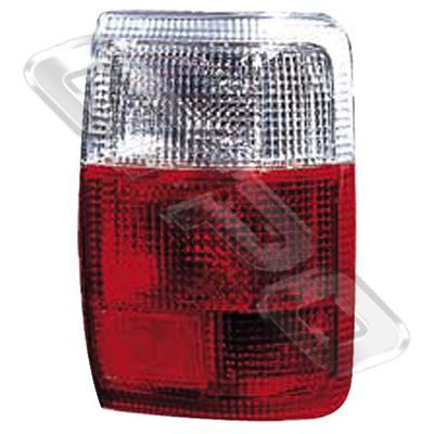 REAR LAMP - R/H - CLEAR/RED - TO SUIT TOYOTA HILUX 4WD/4 RUNNER 1989-  SSR