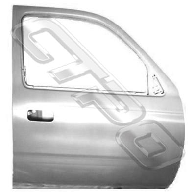 FRONT DOOR SHELL - R/H - TO SUIT TOYOTA HILUX 2WD/4WD 1999-01 - 2 DOOR