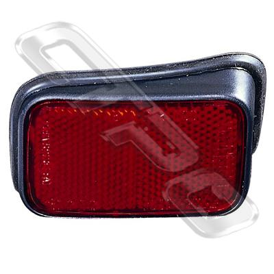 REFLECTOR - R/H - BELOW REAR LAMP - TO SUIT TOYOTA HILUX 2WD/4WD 1999-01