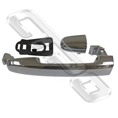 DOOR HANDLE - FRONT OUTER - CHROME - L/H=R/H - W/O KEY HOLE - TO SUIT TOYOTA HILUX 2005-