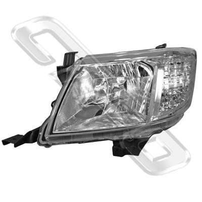 HEADLAMP - L/H - TO SUIT TOYOTA HILUX 2011-