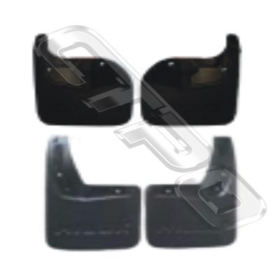 MUD FLAP - SET - 4 PCS - TO SUIT TOYOTA HILUX 2015-  2WD